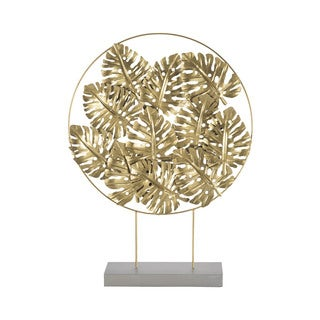 Dimond Home Quintus Gold Foliage Sculpture