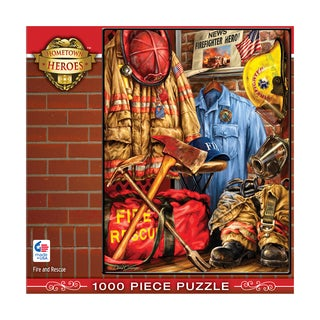 Hometown Heroes - Fire and Rescue: 1000 Pcs