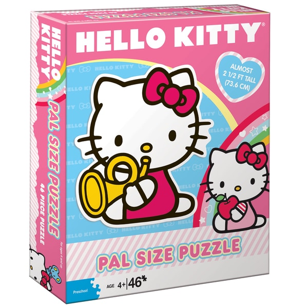 Hello Kitty Pal Size 46-piece Puzzle