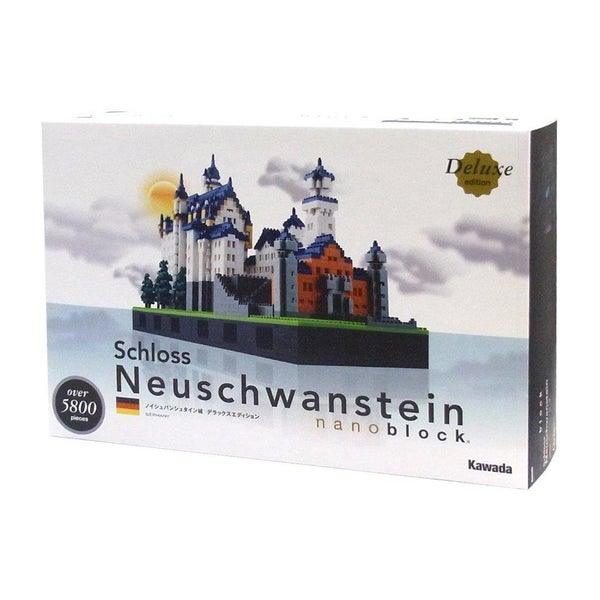 nanoblock Deluxe Edition Level 7 Schloss Neuschwanstein 5800-piece Puzzle