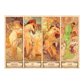 Alphonse Mucha - Seasons Jigsaw Puzzle: 1000 Pcs