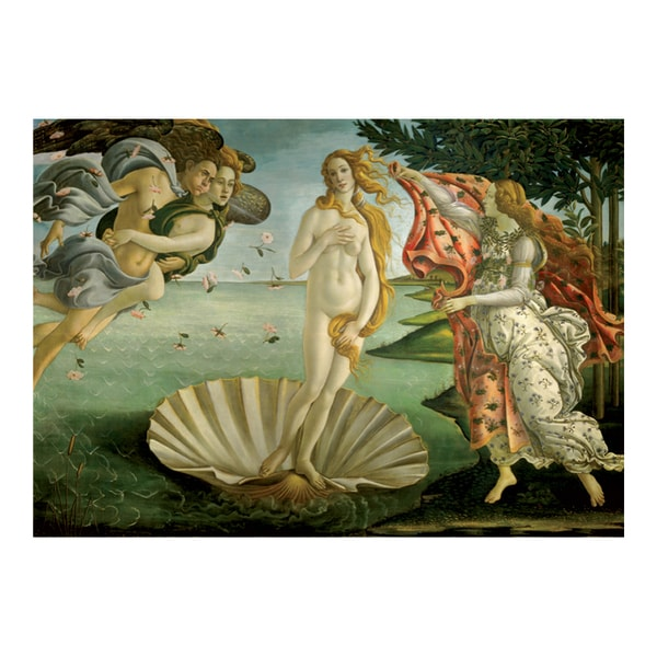 Sandro Botticelli Birth of Venus Jigsaw 1000-piece Puzzle