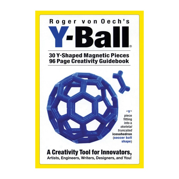 Blue Y-Ball Creative Magnets