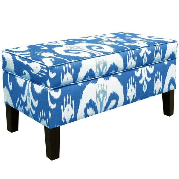 Skyline Furniture Himalaya Porcelain Storage Bench