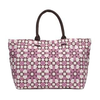 Mauve Flower Tote Bag