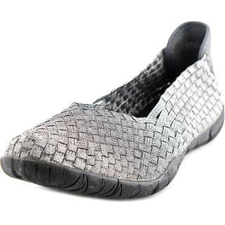 Corkys Women's 'Sidewalk' Silver Basic Textile Casual Shoes