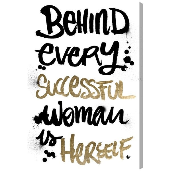 Successful Woman' Canvas Art