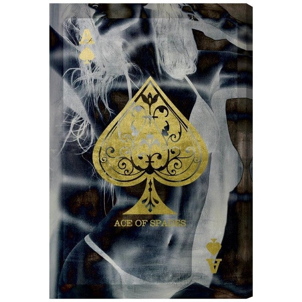 Ace of Spades' Canvas Art