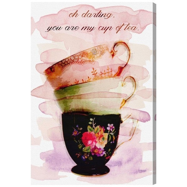 Oliver Gal 'My Cup of Tea'  Canvas Art 17746277