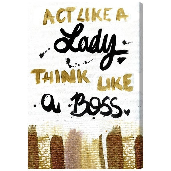 Boss Lady' Canvas Art