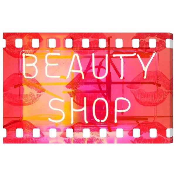 Beauty Shop' Canvas Art