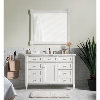Cottage White Brittany 48-inch Single Cabinet