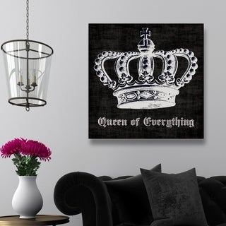 Queen of Everything' Canvas Art