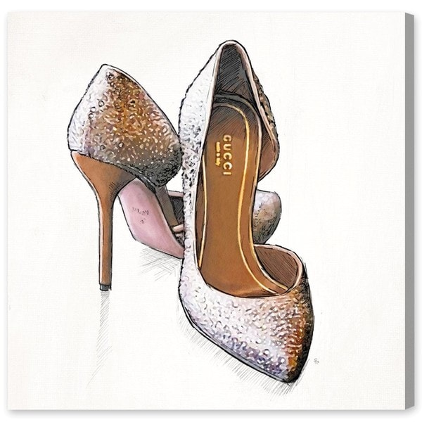 My Gala Shoes' Canvas Art