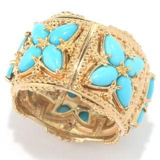 Michael Valitutti Sleeping Beauty Turquosie Ring