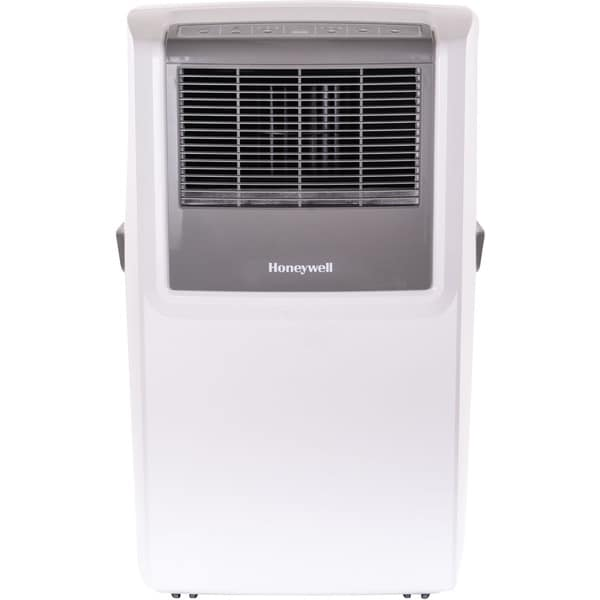 Honeywell White/ Grey MP10CESWW 10,000 BTU Portable Air Conditioner with Front Grille and Remote Control - White - 10,000 BTU 17747283
