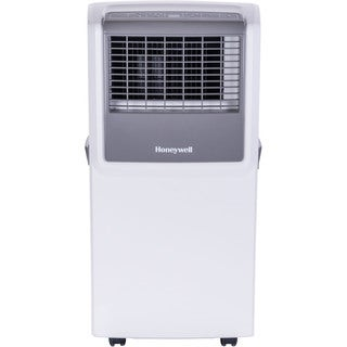 Honeywell White/ Grey MP08CESWW 8,000 BTU Portable Air Conditioner with Front Grille and Remote Control