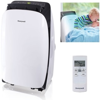 Honeywell White/ Black HL14CESWK HL Series 14,000 BTU Portable Air Conditioner with Remote Control