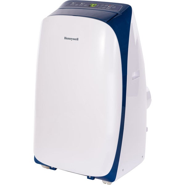 Honeywell White/ Blue HL14CESWB HL Series 14,000 BTU Portable Air Conditioner with Remote Control