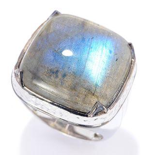 Michael Valitutti Blue Labradorite Men's Ring