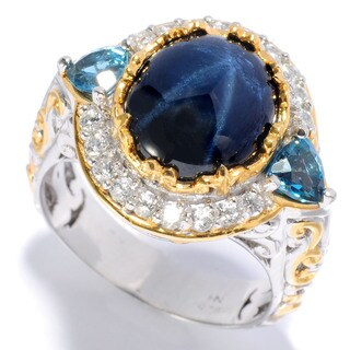 Michael Valitutti Star Sapphire Ring