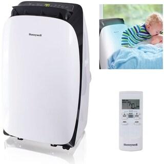 Honeywell White/ Black HL12CESWK HL Series 12,000 BTU Portable Air Conditioner with Remote Control