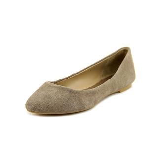 Mia Women's 'Amanda' Grey Regular Suede Casual Shoes