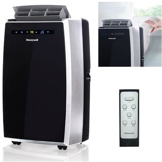 Honeywell Black/ Silver MN12CES 12,000 BTU Portable Air Conditioner with Remote Control