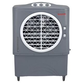Honeywell White/ Black CO48PM 100 Pt. Indoor/Outdoor Evaporative Air Cooler - White/Black
