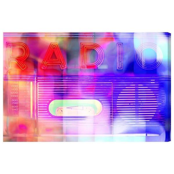 Radio' Canvas Art