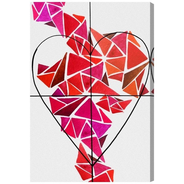 Piece of my Heart' Canvas Art