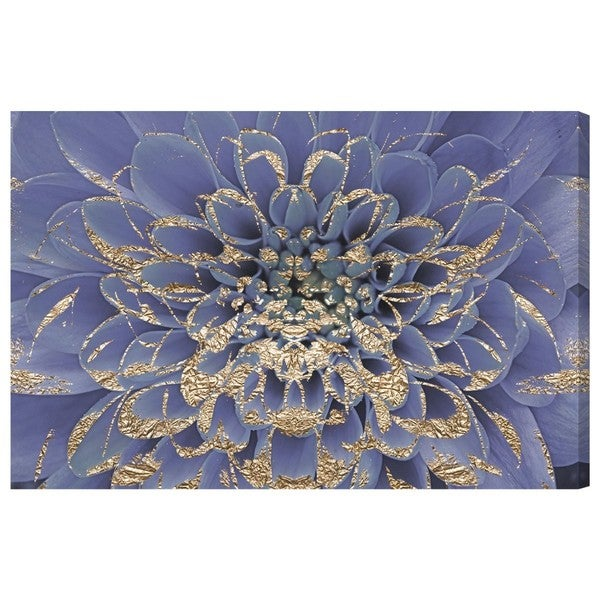 Floralia Lilac' Canvas Art