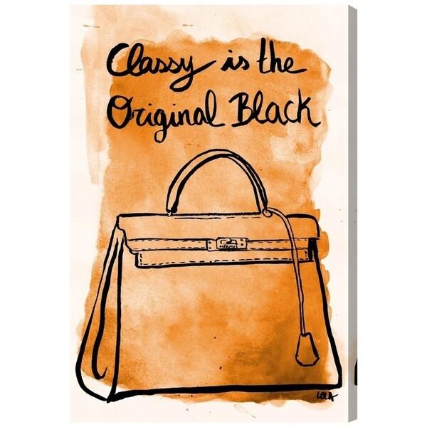 The Original Black' Canvas Art