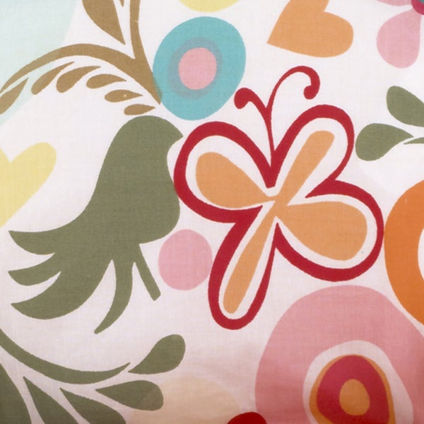 Lizzie Colorful Flower Fabric ( 3 Yards)
