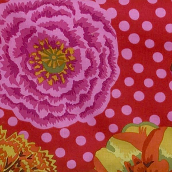 Tula Pink Background Flower Print Fabric (3 Yards)