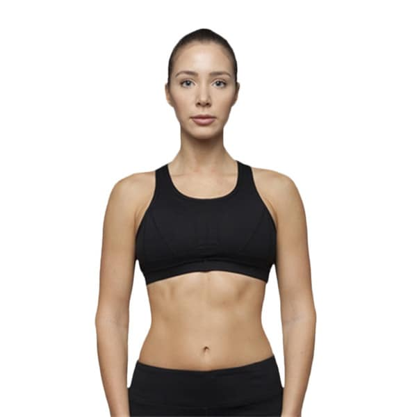 Cami Sport Bra with Crisscross Straps