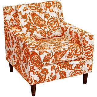 Skyline Furniture Canary Tangerine Arm Chair