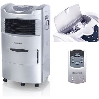 Honeywell Silver CL201AE 42 Pt. Indoor Evaporative Air Cooler with Remote Control