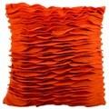 Mina Victory by Nourison Felt Burnt Orange Throw Pillow (18