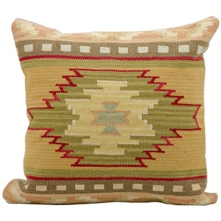 "Mina Victory by Nourison Dakota Red Throw Pillow (20"" x 20"")"
