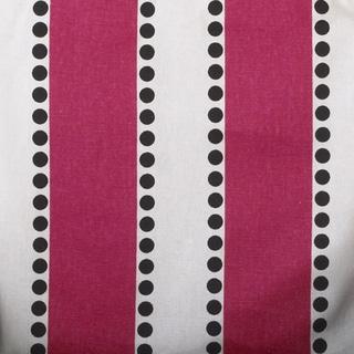 Hottsie Dottsie White and Pink Stripe Fabric (3 Yards)
