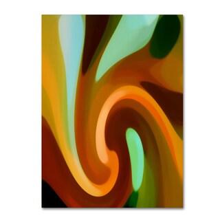 Amy Vangsgard 'Wind In Tree Vertical 2' Canvas Wall Art