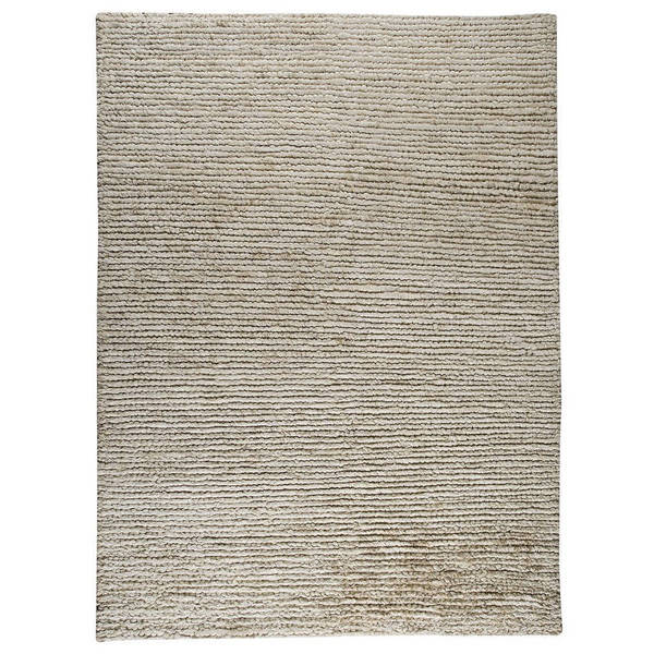 M.A.Trading Hand-woven Nature White Rug (5'6 x 7'10) (India) 17749483