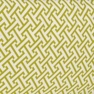 Periwinkle Green Geometric Print Fabric (3 Yards)