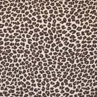 Here Kitty Kitty Leopard Print Fabric (3 Yards)