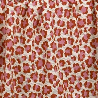 Here Kitty Kitty Pink Animal Print Fabric (3 Yards)