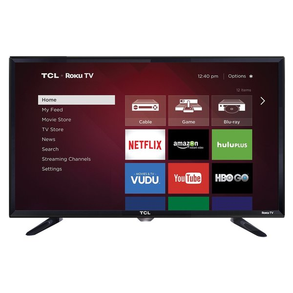 "TCL 28S3750 28"" 720p LED-LCD TV - 16:9 - HDTV - High Glossy Black"