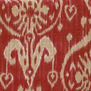 Sidekick Red Ikat Fabric (3Yards)