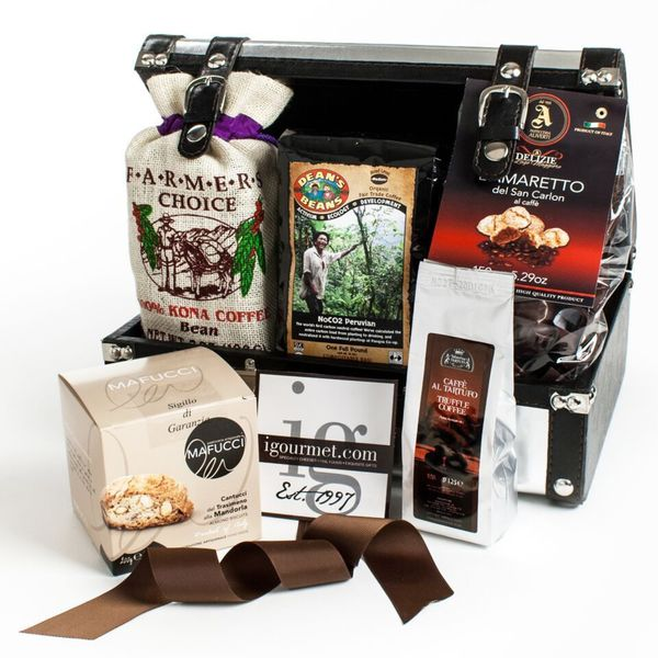 Igourmet Coffee Connoisseur Gift Case