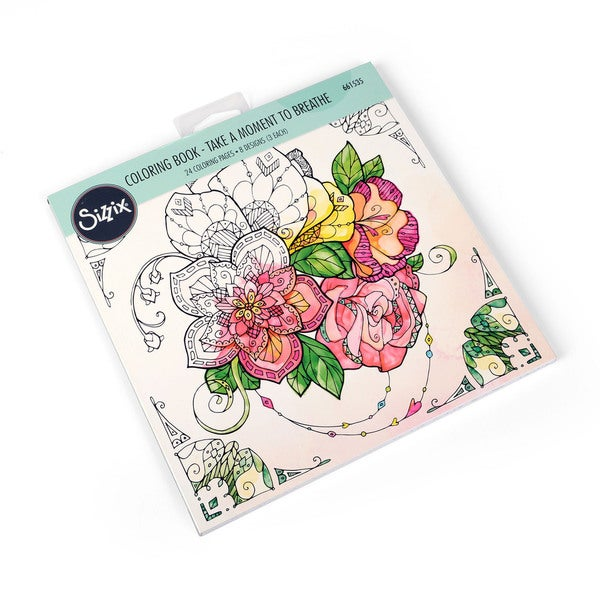 Sizzix Take a Moment to Breathe Katelyn Lizardi Coloring Book